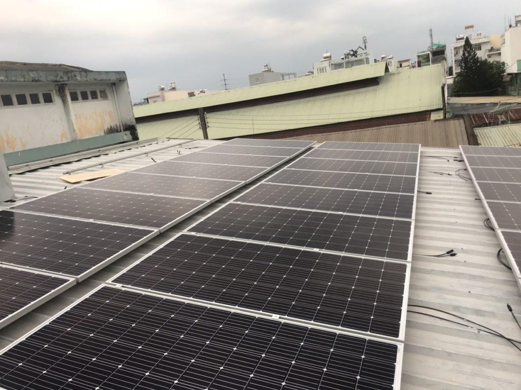 Hệ thống điện năng lượng mặt trời cho doanh nghiệp 20KW