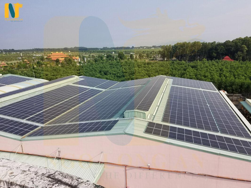 điện mặt trời nhà xưởng